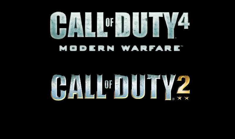 Call of Duty 4 and 2